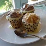 Cupcake al Cioccolato bianco e latticello, con ganache al Cioccolato bianco