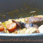 Stufato alla salsa worcester – con cipolline, carote e funghi