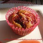 Muffin alle fragole fresche e Grazie alla Flavourart