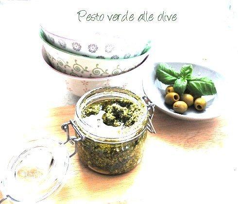 Pesto verde alle olive