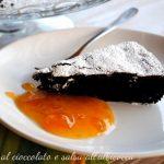 Torta caprese al 70% di cacao