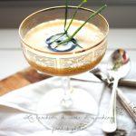 Crema di mais al nero di Seppia, per Taste&More. Un finger facile ed economico, da tavola della vigilia