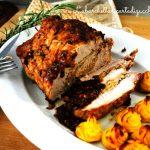 Lonza di maiale ai pistacchi e patate duchessa, pranzo della domenica…