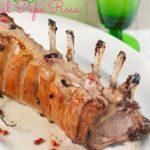 Agnello al pepe rosa e Buona Pasqua