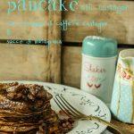 Pancacke di castagne con castagne caramellate al caffè