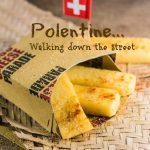 Polentine fritte al formaggio