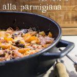 Pasta al forno… alla parmigiana, filante…