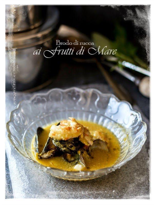 frutti mare pesce zuppa