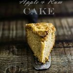Torta di mele al rum… molto alcolica! Apple and Rum cake