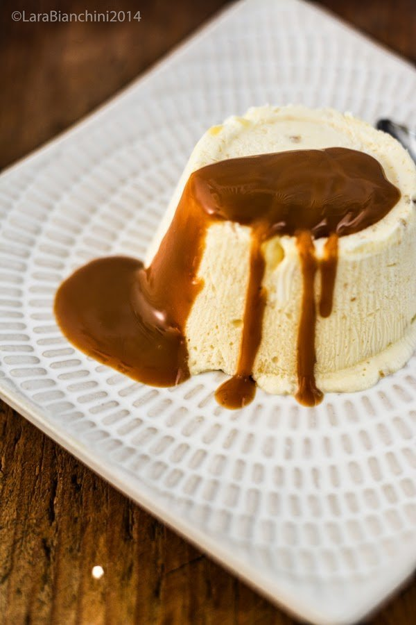 Nougat Parfait with creamy toffee