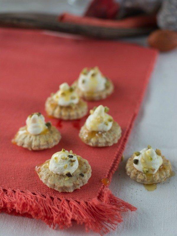 cracker farro caprino e passion fruit food recipe food blog