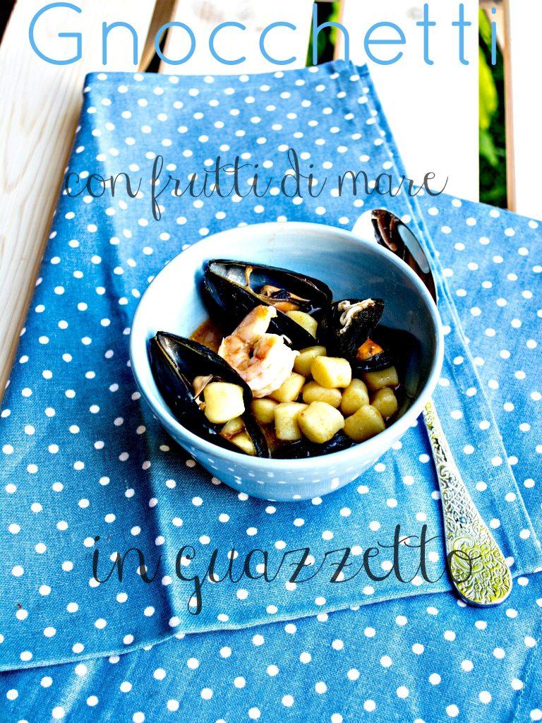 gnocchetti con guazzetto di frutti di mare / gnocchi with stewed seafood