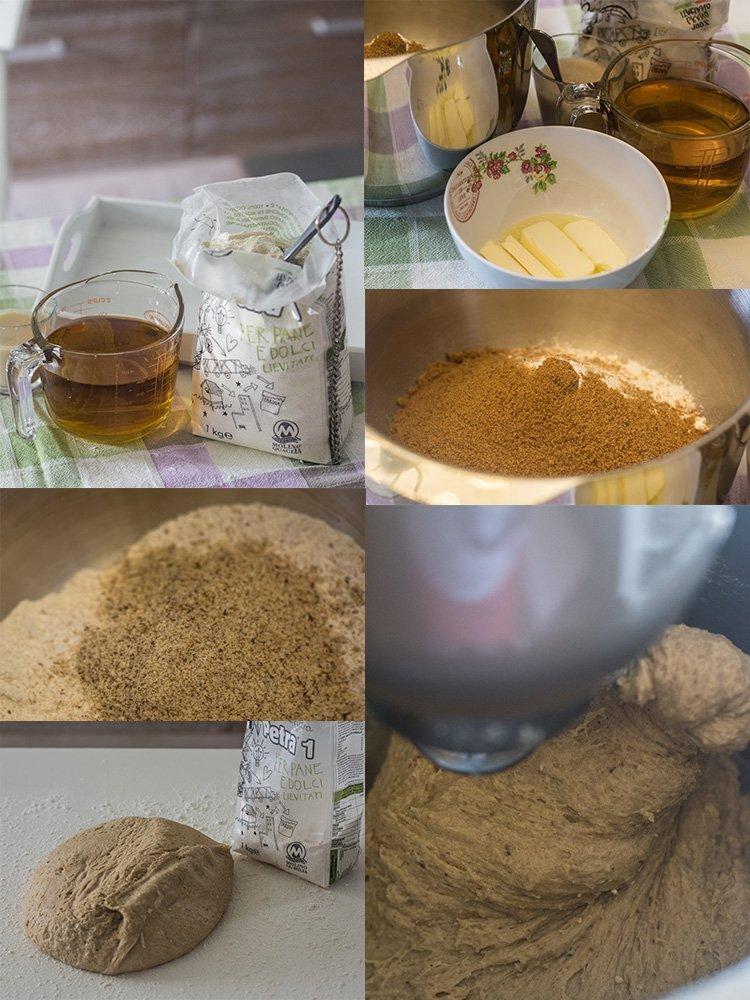 panbrioche camomilla miele e nocciole collage 1