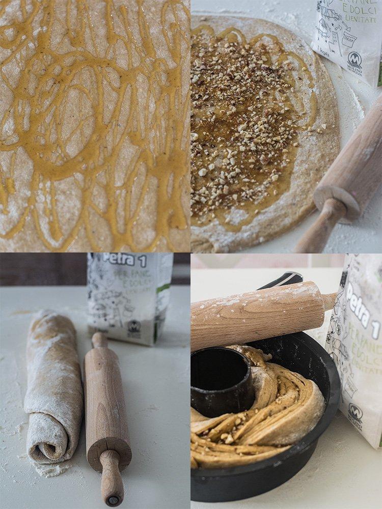 panbrioche camomilla miele e nocciole collage 2