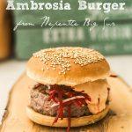 Ambrosia burger e Big Sur… #italialovesamerica