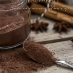 hot chocolate preparate cinnamon and anise