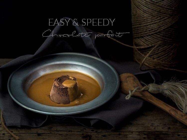 easy and speedy chocolate parfait evidenza2