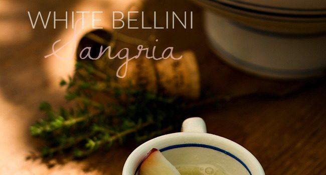 White Bellini Sangria @Perlagewinery