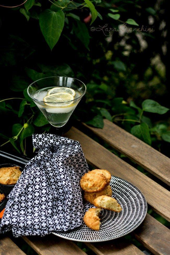 Scone al parmigiano-stampo Le creuset