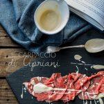 Carpaccio di Cipriani per il calendario del cibo Italiano #aifb