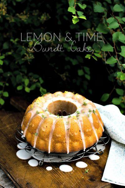 Lemon Thyme bundt cake