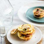 frittatine al forno ai funghi e olive