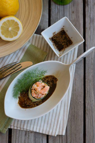 tartare di salmone orientale- il buonsenso