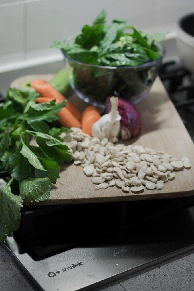 zuppa spinaci e fave-2